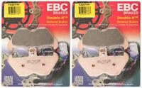 EBC Double-H Sintered Metal Brake Pads FA407HH (2 Packs - Enough for 2 Rotors)