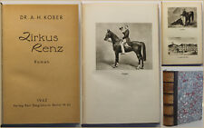 Kober Zirkus renz 1942 historischer Roman Literatur Belletristik Unterhaltung sf