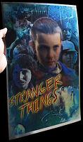 Stranger Things Eleven rare METALLIC FOIL PRINT 11x17