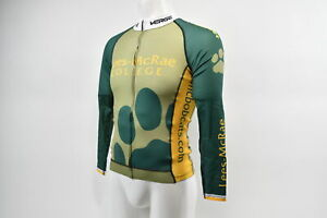 Verge Men's Small Team Lees-McRae Long Sleeve Triumph Strike Cycling Jersey