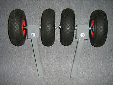 1 Paar Sliprollen für Bootstrailer, Abrollstütze, Sliphilfe, Pendel, Trailer