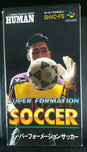 Super Formation Soccer-1991-SHVC-FS-Super Famicom SFC-Japanese Version