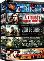 5 DVD Guerre : Mission Enigma  À l'Ouest rien de nouveau  Zone de guerre .. NEUF