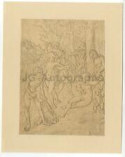 Lucas Cranach der Ältere - Curt Glaser edition (1922) Printed Unbound Etching