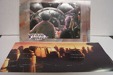 CLASSIC STAR WARS  Punch-out 3-D Card Diorama, MILLENIUM FALCON/Spaceport MINT