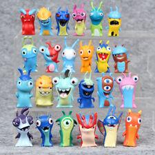 24pcs Slugterra Action Figures Cake Toppers Doll Set Kids Boy Girl Toys Gift Fun