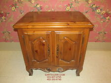 Ethan Allen Chateau Normandy Door Cabinet Bedside Commode Night Stand 17 5016
