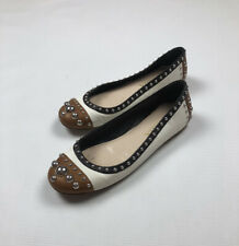 Prada Leather Ballet Flats Shoes size 38