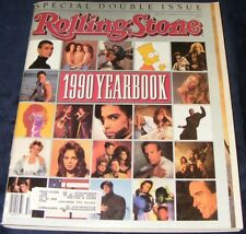 Rolling Stone Magazine #593/594 December 13-27 1990 Yearbook Bart Simpson Beatty