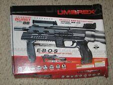 UMAREX 2-4-8  E.B.O.S automatic BB CO2 Air gun (too cool) rain steel!!!