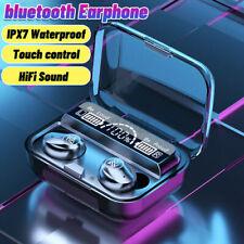 New listing M16 bluetooth 5.1 Earbuds Headset Led Display Ipx7 Waterproof Sport Earphones