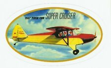 PIPER CUB SUPER CRUISER AIRPLANE  Sticker Decal