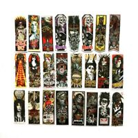 50 Sticker Gothic Lot Pack Skull Laptop Phone Mac Decal Waterproof Rock Bands