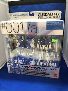 Gundam Fix Figuration 0017a Zeta Plus (Blue) Action Figure Pre Owned