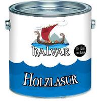 Halvar skandinavische Holzlasur perfekte Holzschutz-Lasur 2,5L 5L 10L Palisander