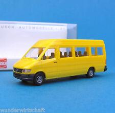 Busch H0 47801 MERCEDES SPRINTER KOMBI Bus Gelb OVP MB HO 1:87 box