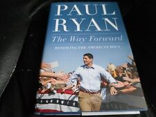 SPEAKER PAUL RYAN SIGNED - THE WAY FORWARD - Limited Hardcover Edition GOP TRUMP