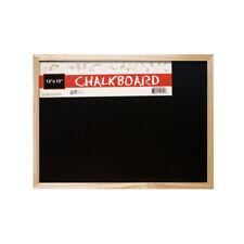 "Set of 6 Bulk Lot Wall Mountable Chalkboards 12x15"""