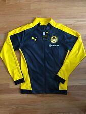Puma BVB Borussia Dortmund Track Stadium Soccer Jacket Size Medium M
