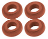 VW Bug Bus Ghia Sand Rail Dune Buggy Oil Cooler Seals 10mm Late, 4 Pack 9256