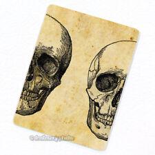 Skull #3A Deco Magnet, Decorative Fridge Décor Antique Medical Illustration Gift