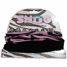 Oxford Snug Pink Zebra Thermal Head & Neck Wear Balaclava Face Mask Snug NW611 T