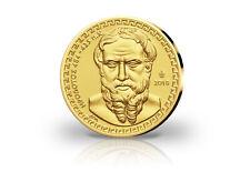 Gold Coin 2018 Greek Herodot Pf IN Case