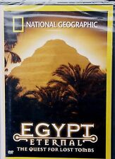 NEW~ National Geographic ~ EGYPT ETERNAL; THE QUEST FOR LOST TOMBS ~  DVD 2002