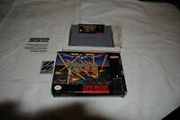 RAIDEN TRAD SNES SUPER NINTENDO GAME