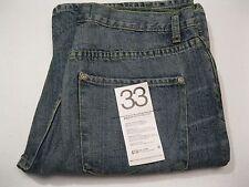 New $198 Paper Denim & Cloth GTO Slim 5 Boot Jeans Distressed size 33
