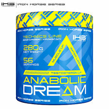 Anabolic dream 280 testostérone booster & créatine matrix-sec muscle builder