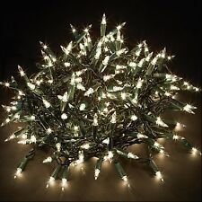 Premier Decorations 100 Clear Bulb Shadeless Christmas Lights Indoor
