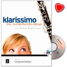 Klarissimo Lernbuch für Klarinette - Universal Edition - UE31110 - 9783702410155