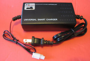 Smart Charger for Li-Po/ion Airsoft Battery with Mini Tamiya Connector 3.7-14.8V
