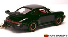 KEYCHAIN BLACK PORSCHE 911 CARRERA RED INT NEW LIMITED EDITION CUSTOM KEYRING R