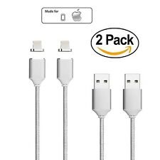 Netdot 2 Pack 2nd Generation Magnetic USB Charger Cable Adapter for iPhone 5 ...