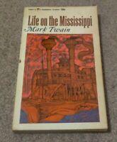 1965 LIFE ON THE MISSISSIPPI Mark Twain Samuel Clemens Steamboat Pilot