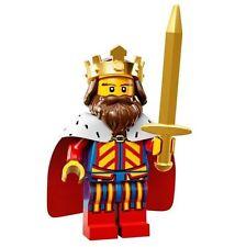 LEGO Minifigures Series 13 classic King with sword + gold crown- suit castle set