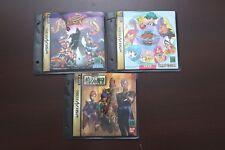 Sega Saturn Fighting Viper Quiz  Giren's Greed Japan SS 3 games US Seller