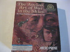"""The Ancient Art of War in the Skies PC Game Factory Sealed  3.5"""" and  5.25"""" disk"""