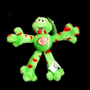 Vintage Spot Ethical SPOTBITES BOUNCING BUDDIES Frog Tennis Ball Dog Toy