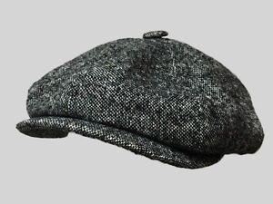 Tommy Shelby 8 panel  BAKERBOY,NEWSBOY,PEAKY BLINDER FLAT CAP 1920S CABBIE