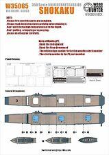 Hunter 1/350 W35065 Wood deck IJN Shokaku for Fujimi
