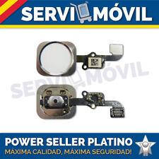"""Flex Cable + Botón Home para Iphone 6 4,7"""" Blanco Con Embellecedor Boton"""
