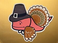NEW Vineyard Vines Whale Decal Sticker Thanksgiving Turkey *FREE SHIPPING*