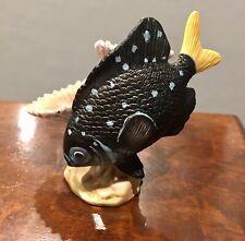 Franklin Mint Jewels Of The Sea Figurine Yellowtail Damselfish Richard Ellis