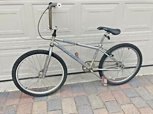 UNRESTORED 1997 97 DYNO GT 24 NITRO OLD SCHOOL BMX BICYCLE POWERLITE HANDLEBARS