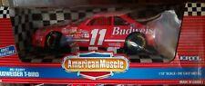 VINTAGE NASCAR ERTL 1/18 - BUDWEISER T-BIRD - BILL ELLIOTT - NOS