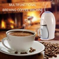 300W Single Cup Drip Coffee Maker Electric Automatic Espresso Coffee Machine LOT