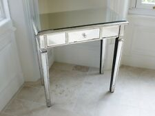 Silver Venetian Mirrored console table hall table console dressing table mirror